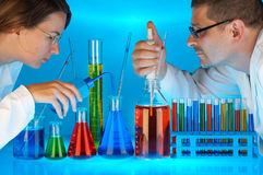 Research laboratory Royalty Free Stock Image