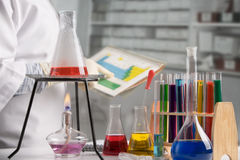 Research laboratory Stock Photo
