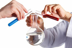 Research laboratory. Royalty Free Stock Photo