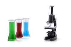 Research in laboratory Royalty Free Stock Images
