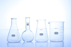 Research laboratory glassware Royalty Free Stock Photography