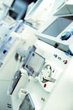 Research laboratory with hardware indoors Stock Photo