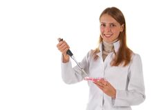 Research Laboratory. Successful Test work. Stock Images