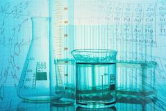Research. Medical chemistry test experiment technician nobody stock photo