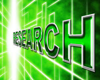 Research Online Means World Wide Web And Analyse Royalty Free Stock Photos