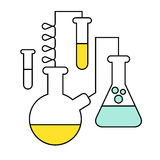 Research and Science Harmony series icons Royalty Free Stock Photos