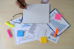 Research stock market chart paper for analysis Brainstorm Meeting research. W stock images