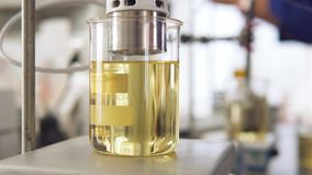 Research of sunflower oil in the laboratory
