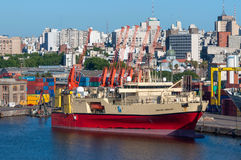 Research and survey vessel Royalty Free Stock Images