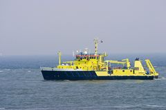 Research vessel royalty free stock images