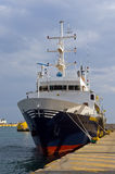 Research Vessel Royalty Free Stock Photography