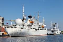 Research vessel Cosmonaut Viktor Patsayev Stock Photos