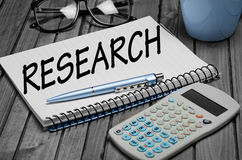 Research word Stock Images