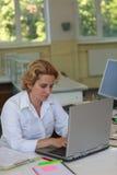 Researcher Stock Photo