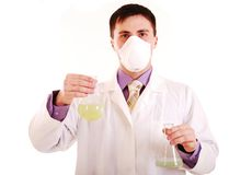 Researcher. Royalty Free Stock Images