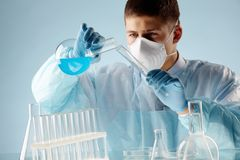 Researcher Stock Image