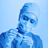 researcher in the laboratory Stock Photos