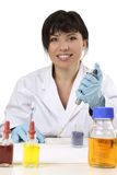 Researcher at work Royalty Free Stock Photo