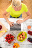 Researching Fruits Royalty Free Stock Images