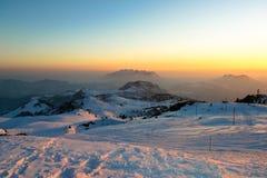 Resegone da montanha da paisagem Fotos de Stock Royalty Free