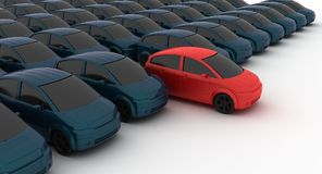 Reseller van de auto Stock Fotografie