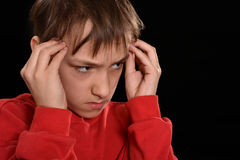 Resentful young guy Royalty Free Stock Images