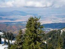 reserv för berg för liggande för höstcrimea karadag nationell Arkivfoto
