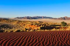 reserv för rand för namibnamibia natur Arkivbild