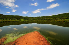 Reserva da cratera do meteorito de Tswaing Imagem de Stock