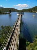 Reserva de agua artificial Imagen de archivo libre de regalías