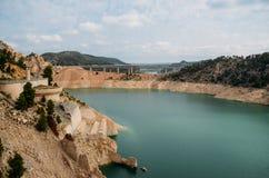 Reserva de agua azulverde de Contreras, España fotos de archivo libres de regalías