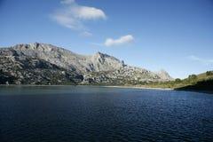 Reserva de agua de Cuber, Escorca, Mallorca, Mallorca, España Fotos de archivo libres de regalías