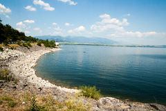 Reserva de agua Liptovska Mara Foto de archivo