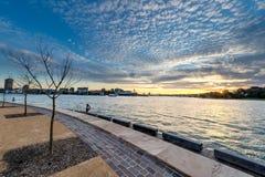 Reserva de Barangaroo en Sydney imagen de archivo