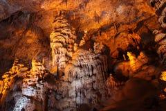 Reserva de naturaleza de la cueva de la estalactita de Sorek fotos de archivo libres de regalías