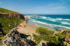 Reserva de naturaleza de Robberg, ruta del jardín, Suráfrica Imagen de archivo libre de regalías