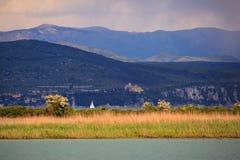 Reserva de naturaleza del río de Isonzo Imagen de archivo libre de regalías