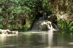 Reserva de naturaleza de la corriente de Amud en Israel septentrional Foto de archivo