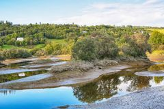 Reserva de naturaleza de Leinoera, Noruega Imagenes de archivo