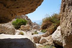 Reserva de natureza de Ein Gedi (Israel) foto de stock royalty free