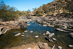 Reserva de natureza dos Rapids de Bels imagens de stock