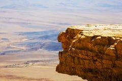 Reserva de Ramon Nature, Mitzpe Ramón, desierto del Néguev, Israel Fotografía de archivo libre de regalías