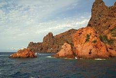 Reserva de Scandola (Córsega France) Fotografia de Stock