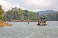 Reserva del lago Periyar foto de archivo