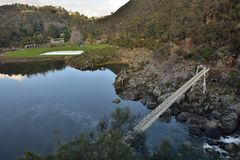Reserva do desfiladeiro da catarata Fotografia de Stock