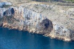 A reserva do mar de San Antonio Cape Denia, Espanha Fotografia de Stock