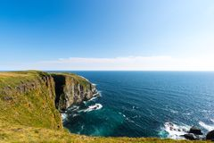 Reserva ecológica do ` s de St Mary do cabo, Terra Nova Fotos de Stock Royalty Free