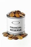 Reserva financiera Imagen de archivo