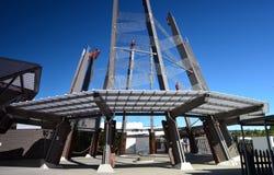 Reserva geotérmica de Whakarewarewa En alguna parte en Nueva Zelandia Fotos de archivo libres de regalías