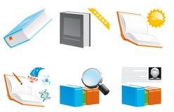 Reserva iconos Fotos de archivo libres de regalías